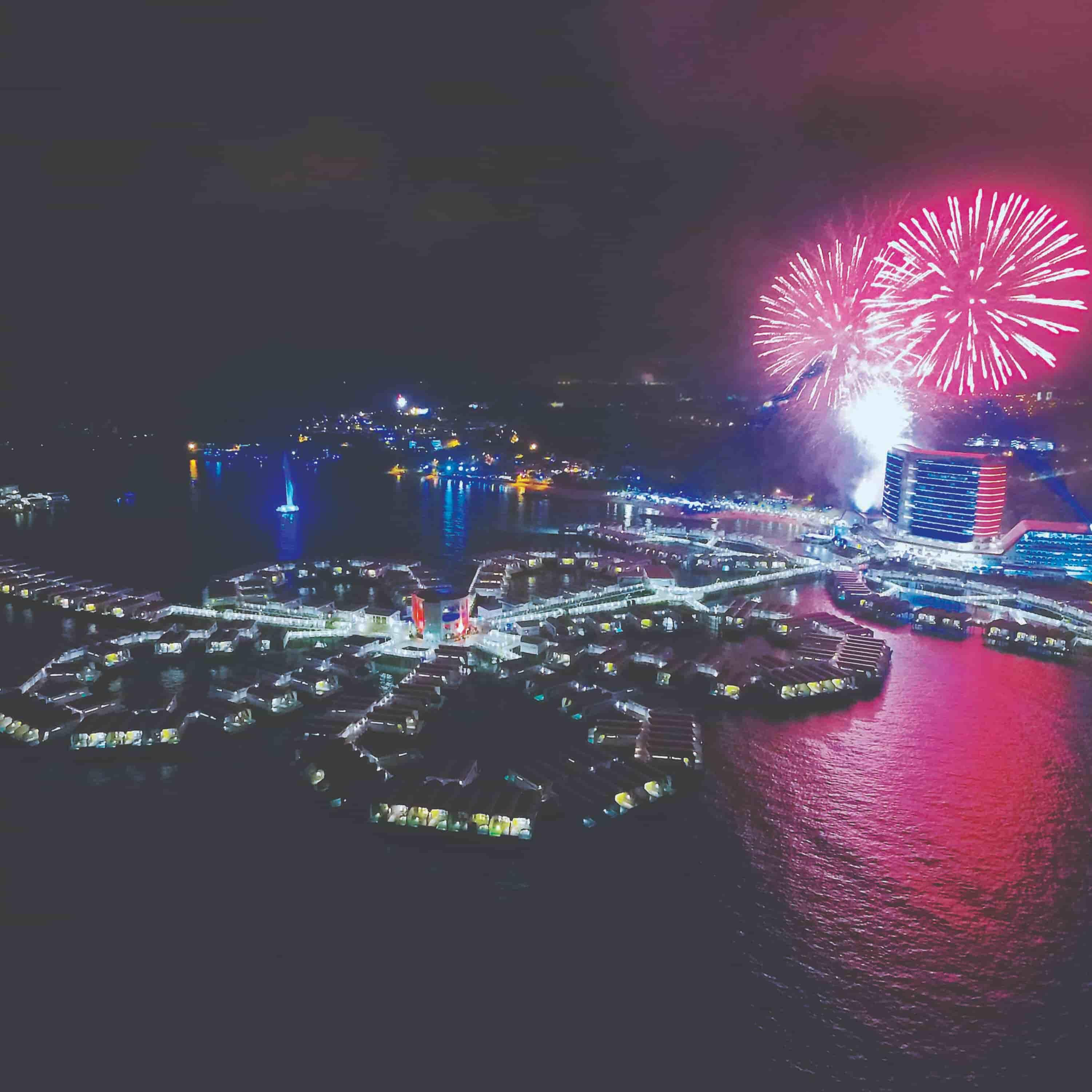News 2016 - New Year's Eve Countdown Fireworks | Lexis Hibiscus® Port Dickson