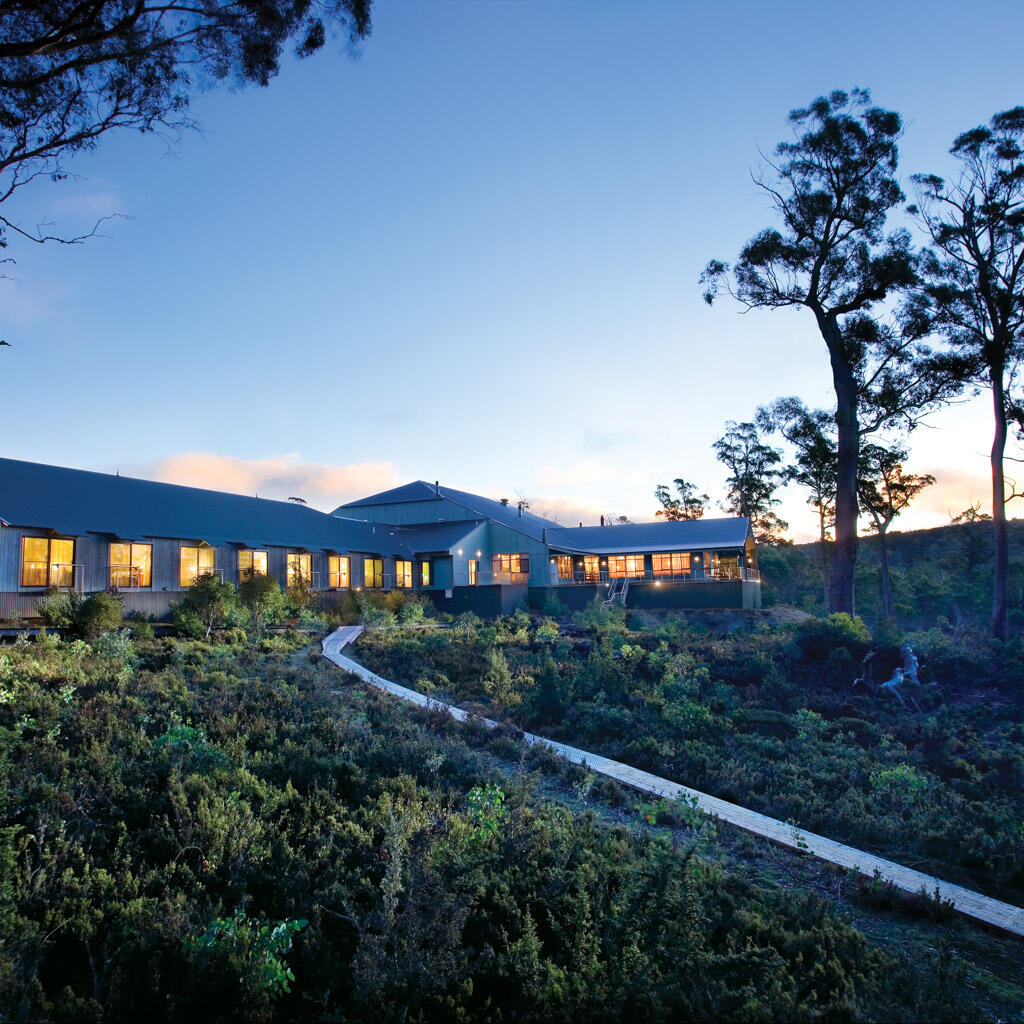 Exterior view of Cradle Mountain Hotel