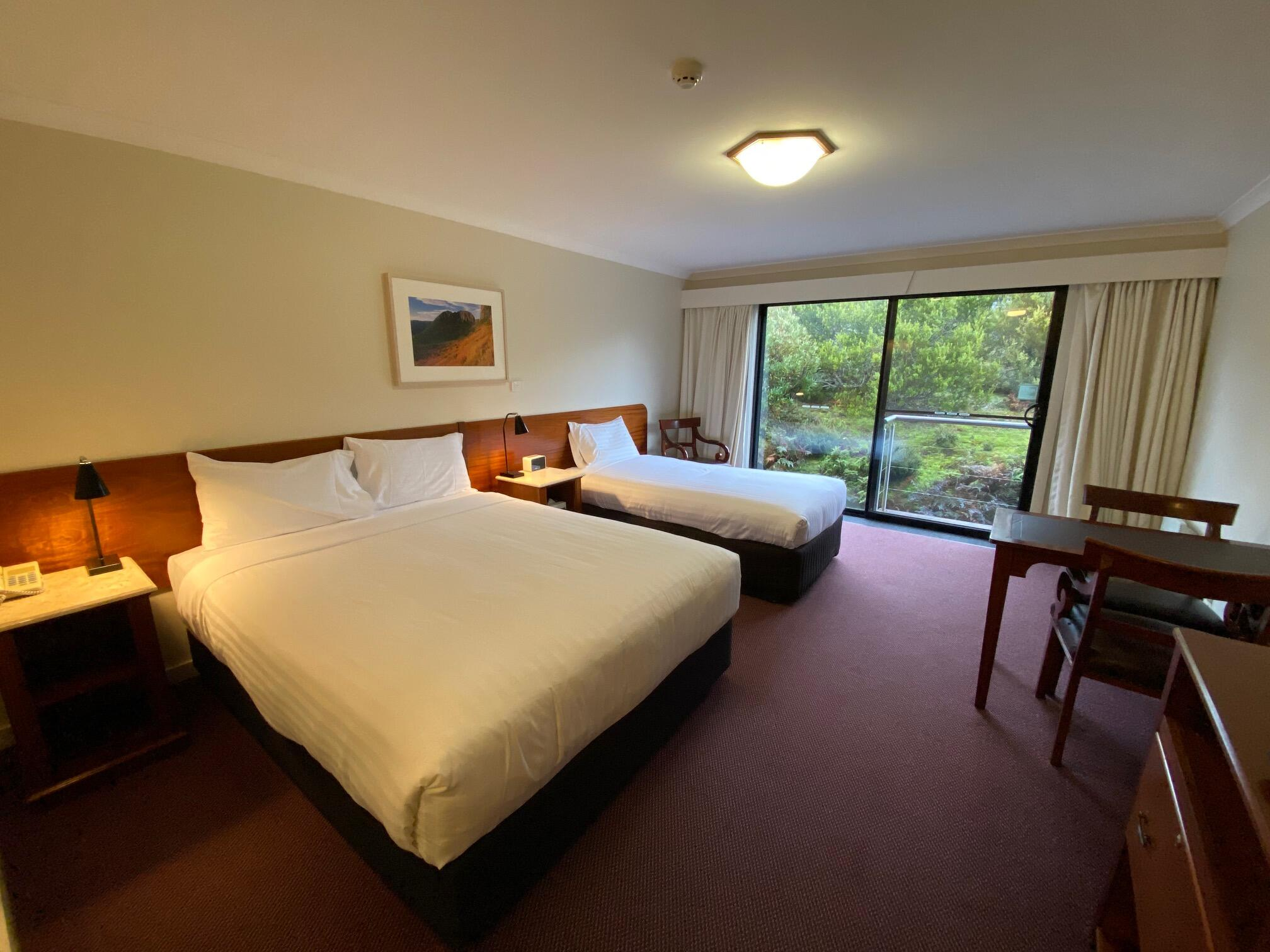 Standard Room with 2 queen beds at Cradle Mountain Hotel