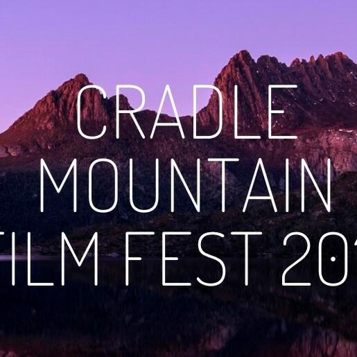Banner of the Cradle Mountain Film Fest 2017