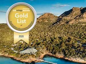 Gold List of Australian Accommodation 2020 for Freycinet Lodge
