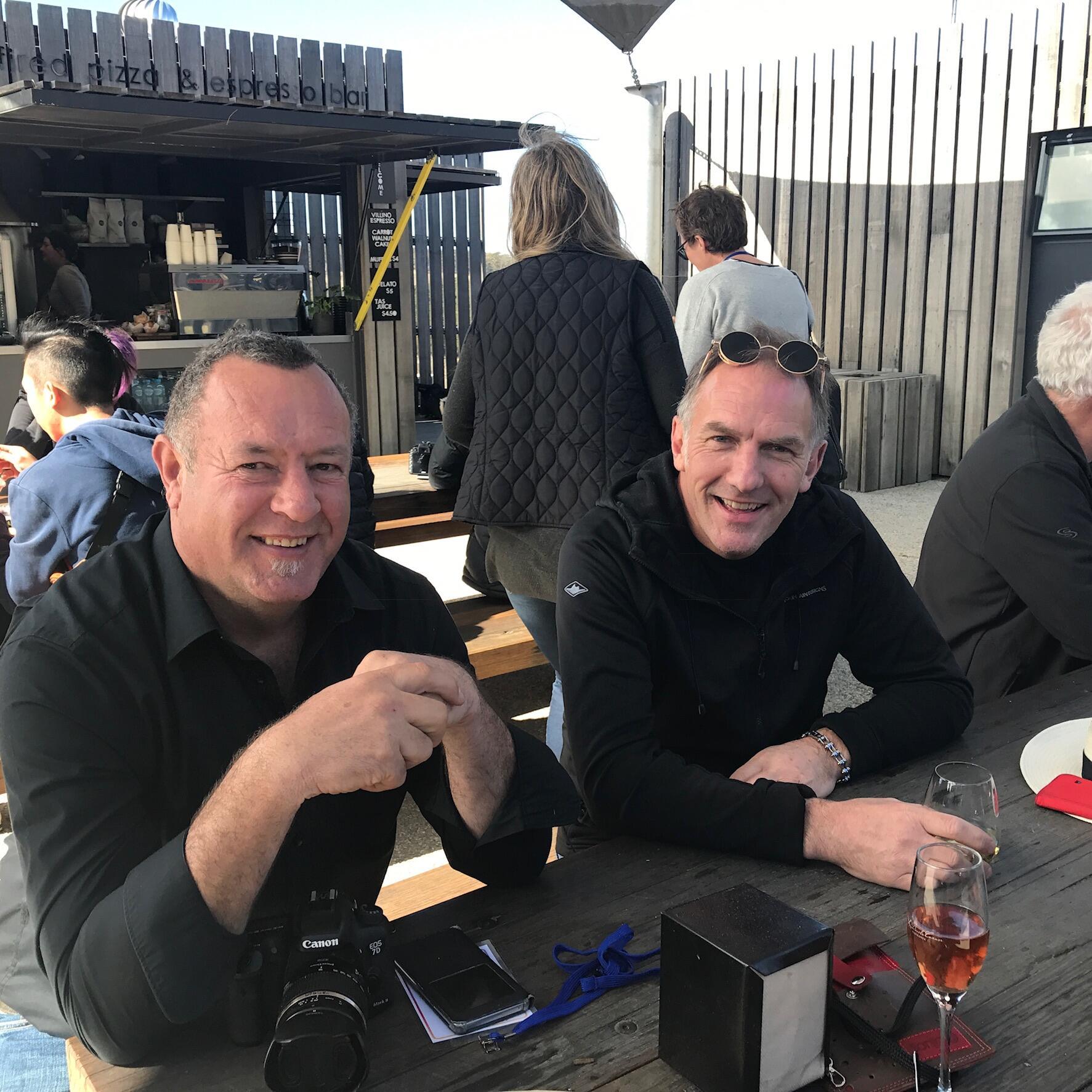 People at the Great Eastern Wine Weekend in Freycinet Lodge