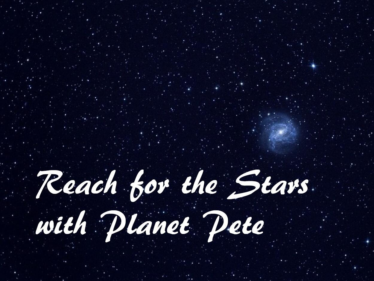 Reach for the stars with planet Pete Banner at Strahan Village