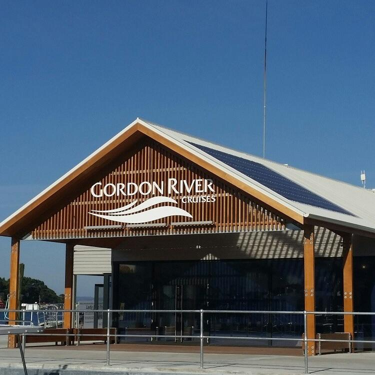 Exterior view of Gordon River Cruises