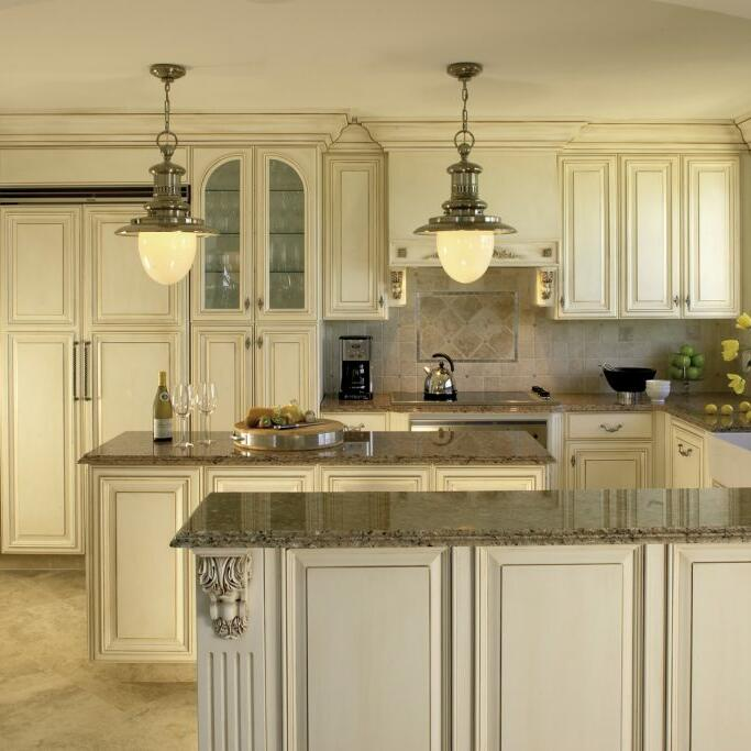 View of the Kitchen at the villas in The Somerset On Grace Bay