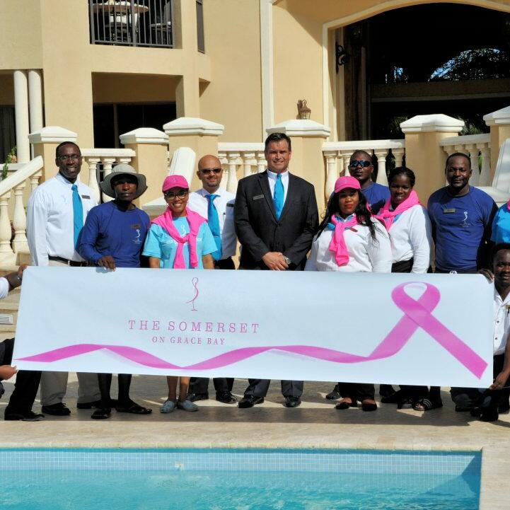 Somerset crew participated in National Breast Cancer Awareness
