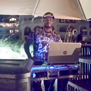 Dj at the 10th Anniversary celebrations of Somerset Grace Bay