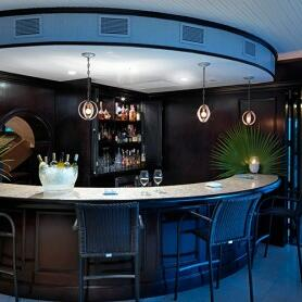Bar at Pavilion Restaurant in The Somerset On Grace Bay