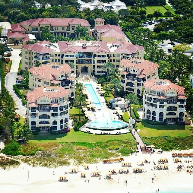 Exterior view of The Somerset On Grace Bay