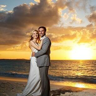 Couple by the beach at at The Somerset On Grace Bay