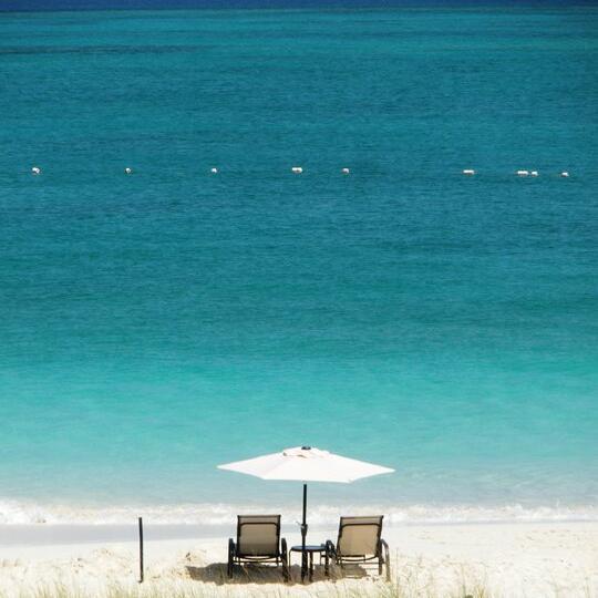Turks & Caicos beach near the Somerset On Grace Bay