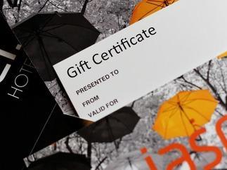 Jasper Gift Certificate