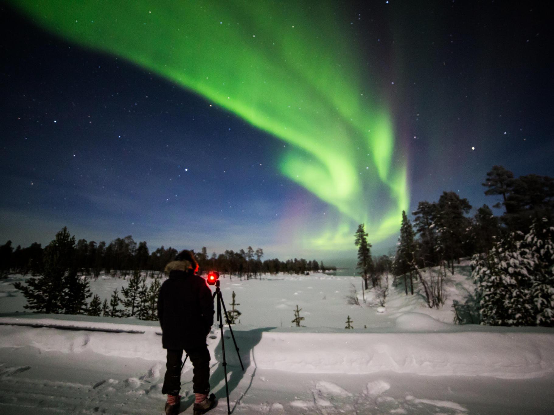 Northern Lights Village Hotels in Finland