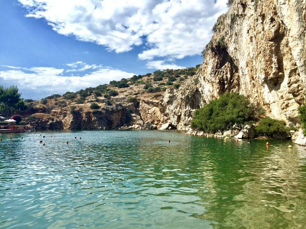 Lake Sky Swimming