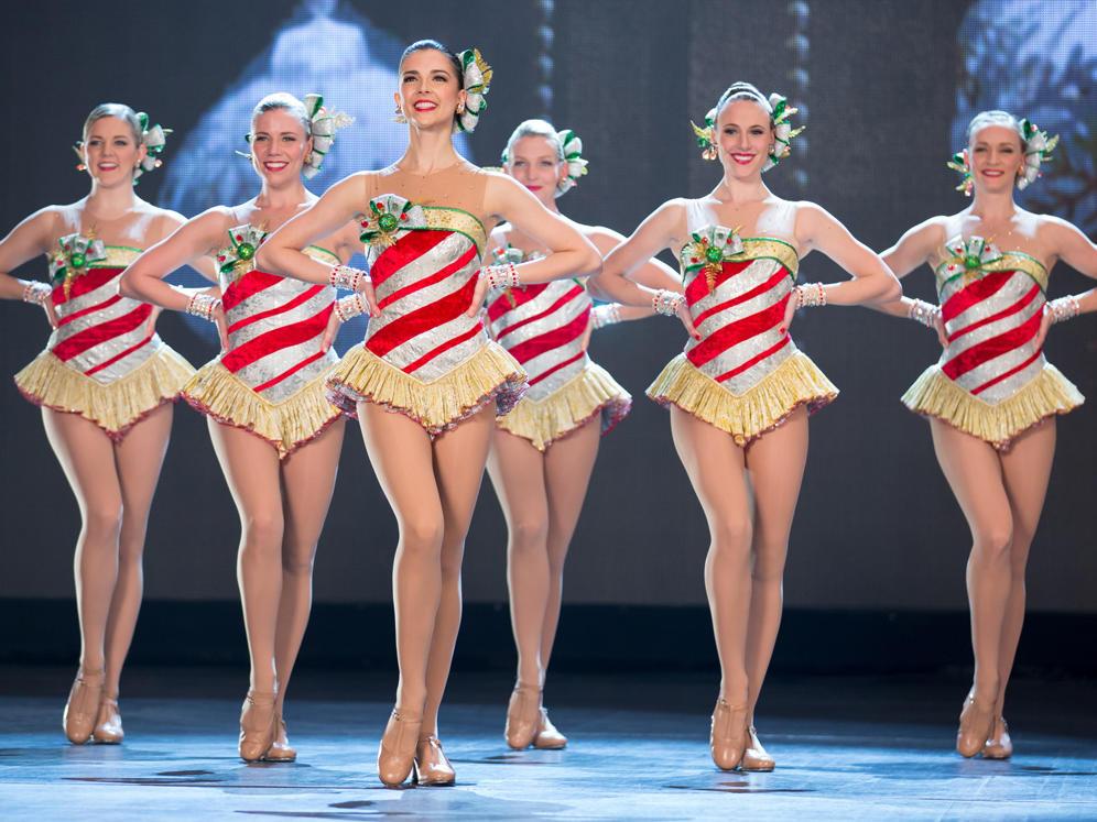Radio City Rockette Dancers at Radio City Music Hall