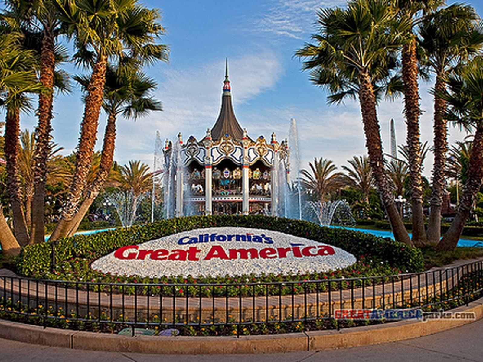 enterance to california's great america