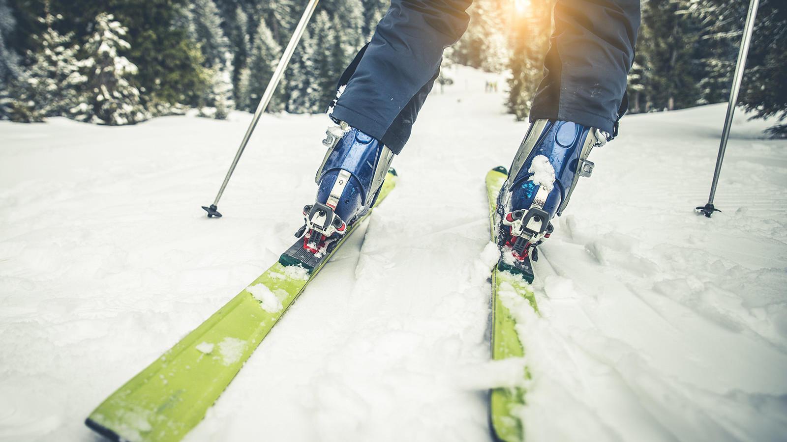 Bogus Basin Skiier
