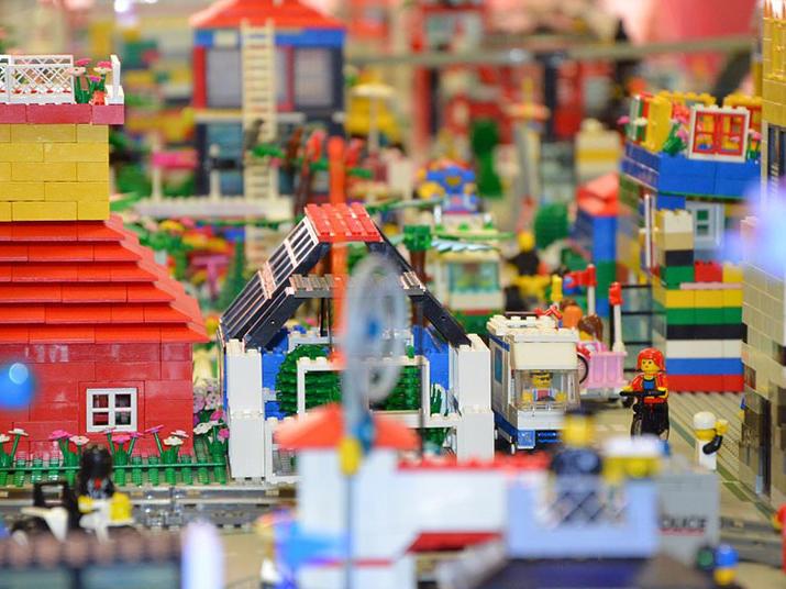 Lego figurines at LegoLand