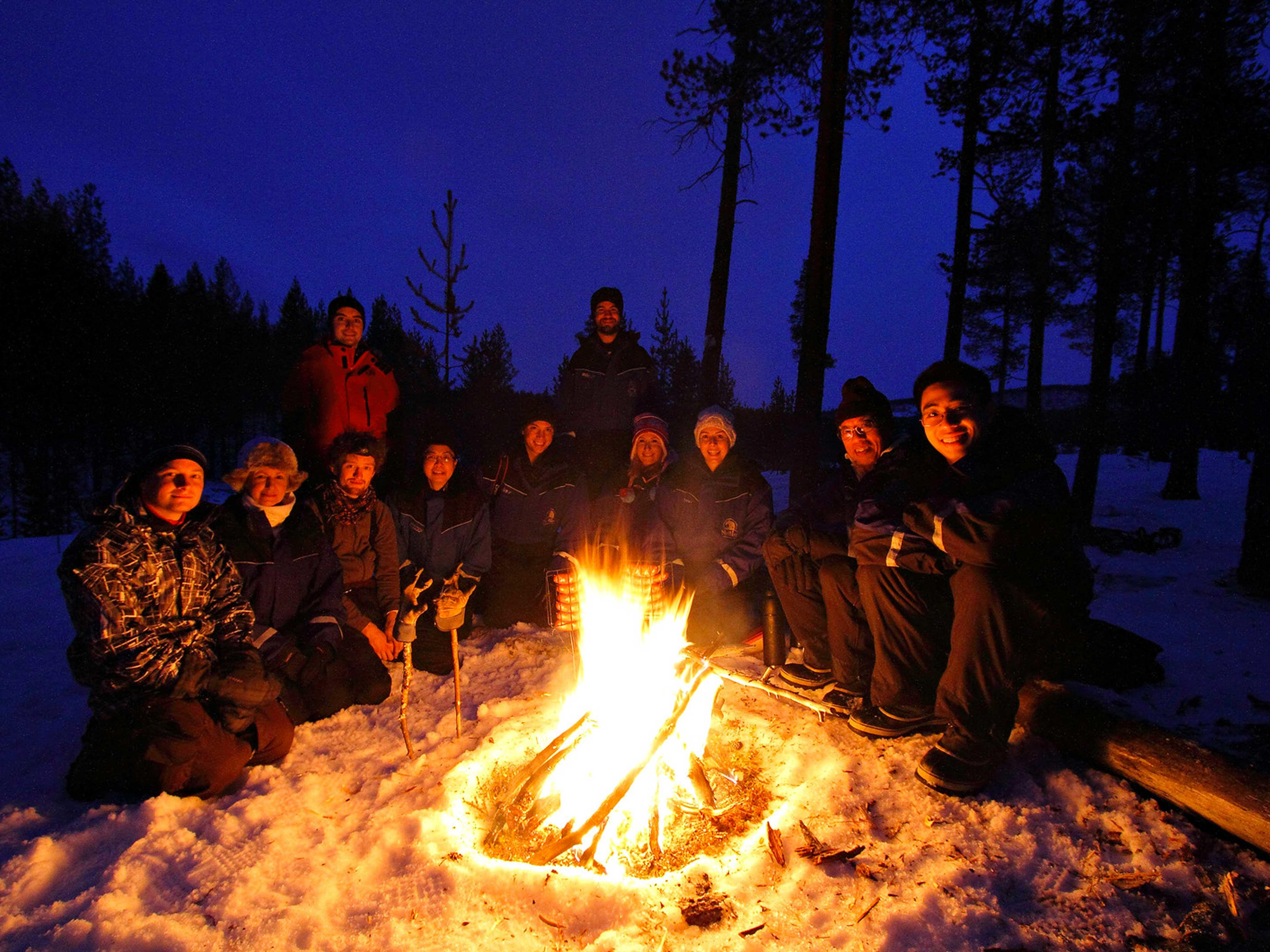 Activities at Northern Lights Village Hotels in Finland
