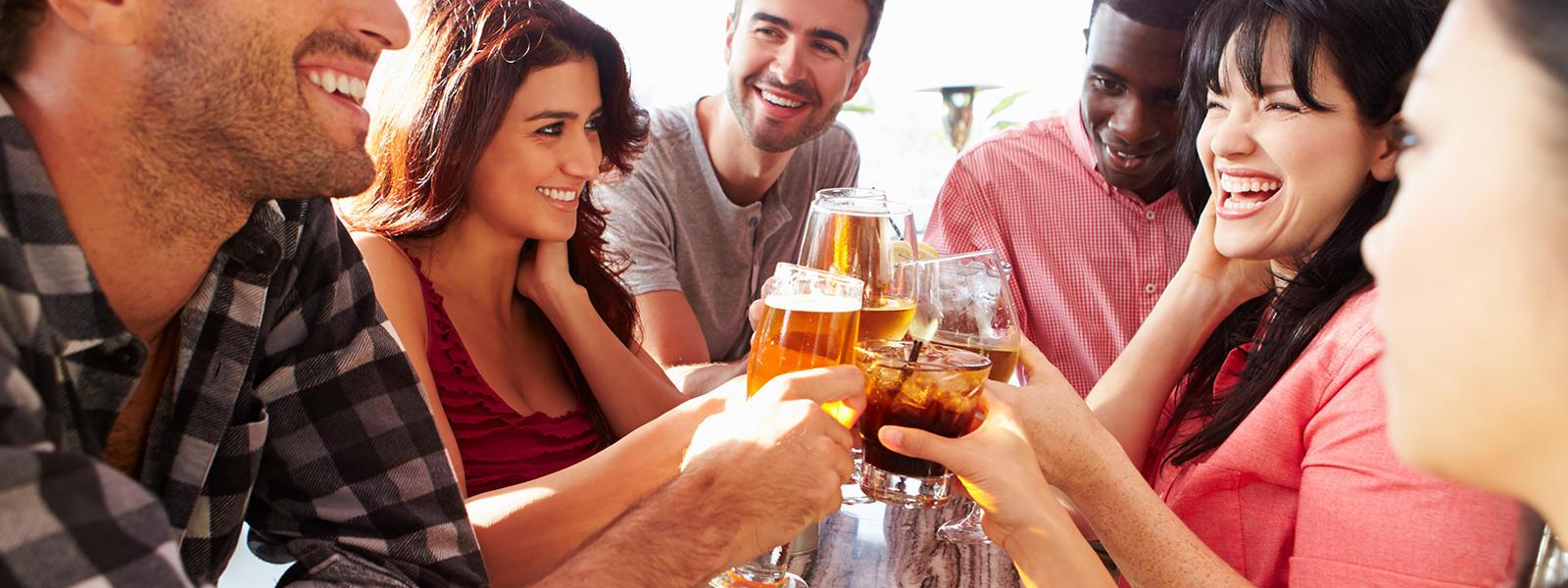 brew package friends enjoy drinks