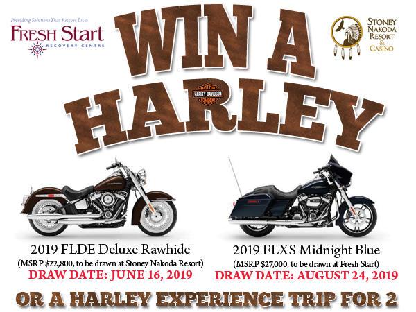 Win a Harley – Kananaskis Hotel Deals – Stoney Nakoda Resort & Casino