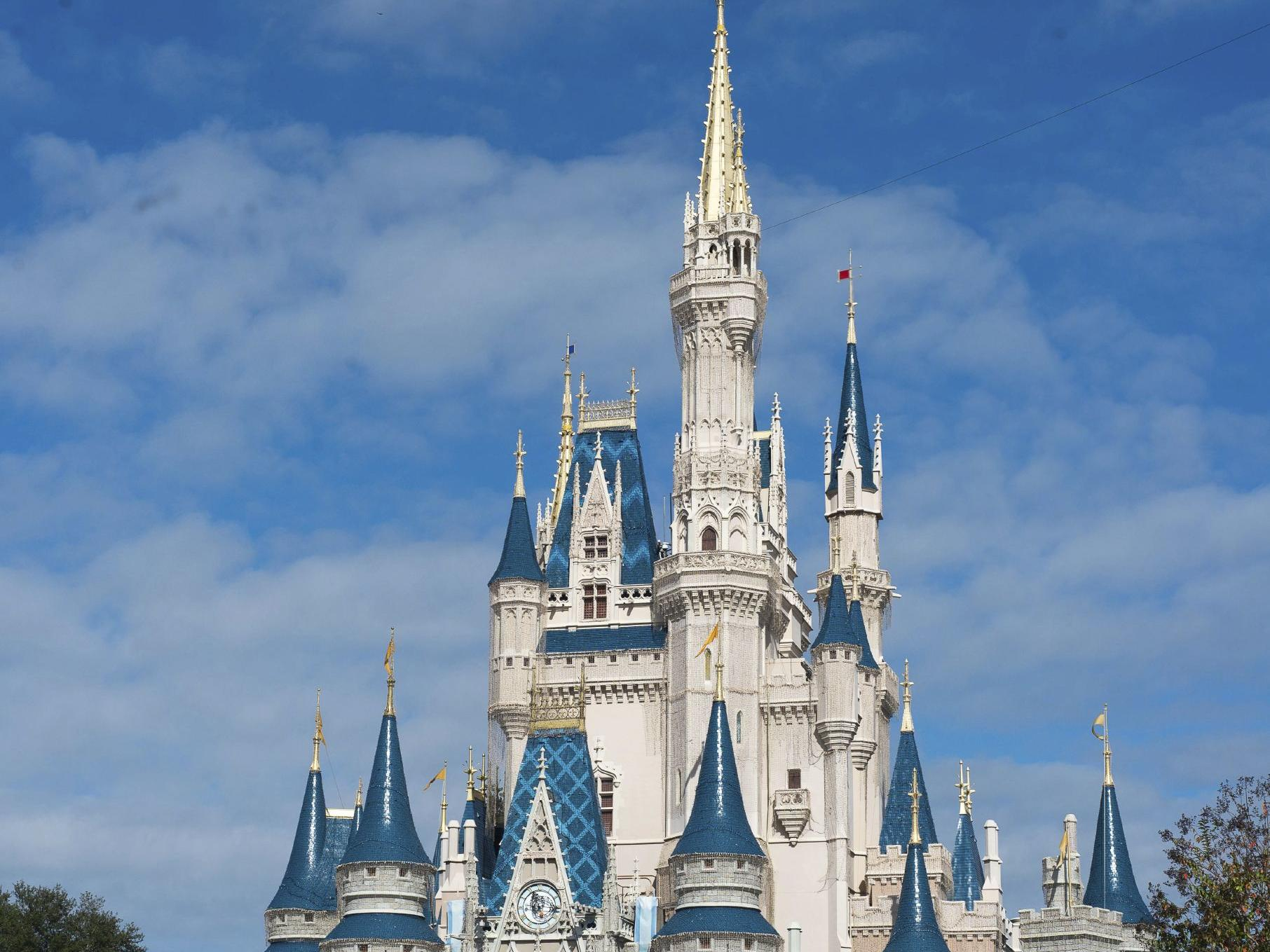 Cinderlla's Castle at Walt Disney World's Magic Kingdom