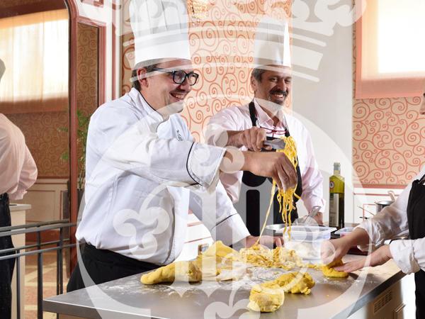 Cooking classes at Castello dal Pozzo in Oleggio Castello, Italy