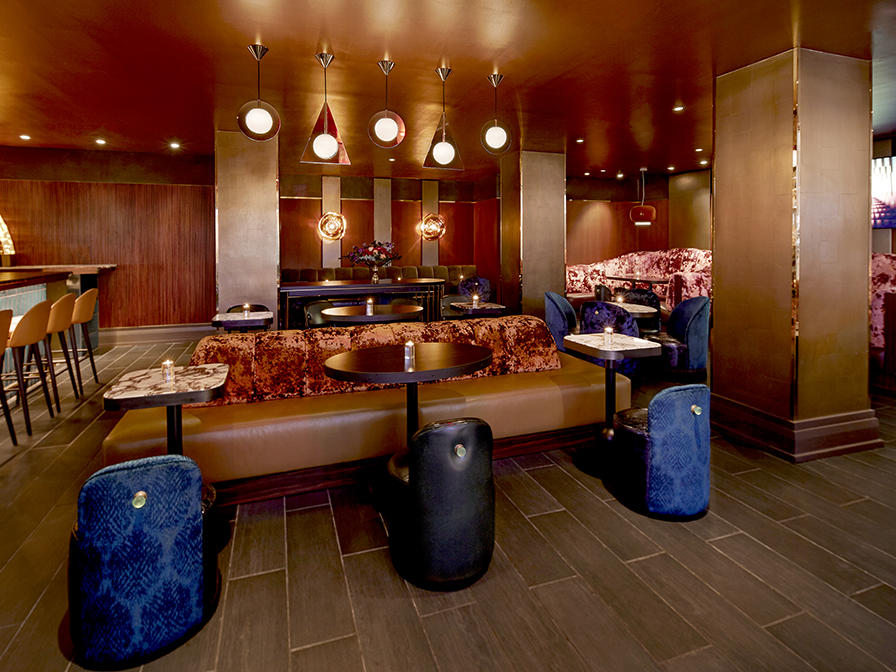 The Stayton Room bar space at The Lexington Hotel