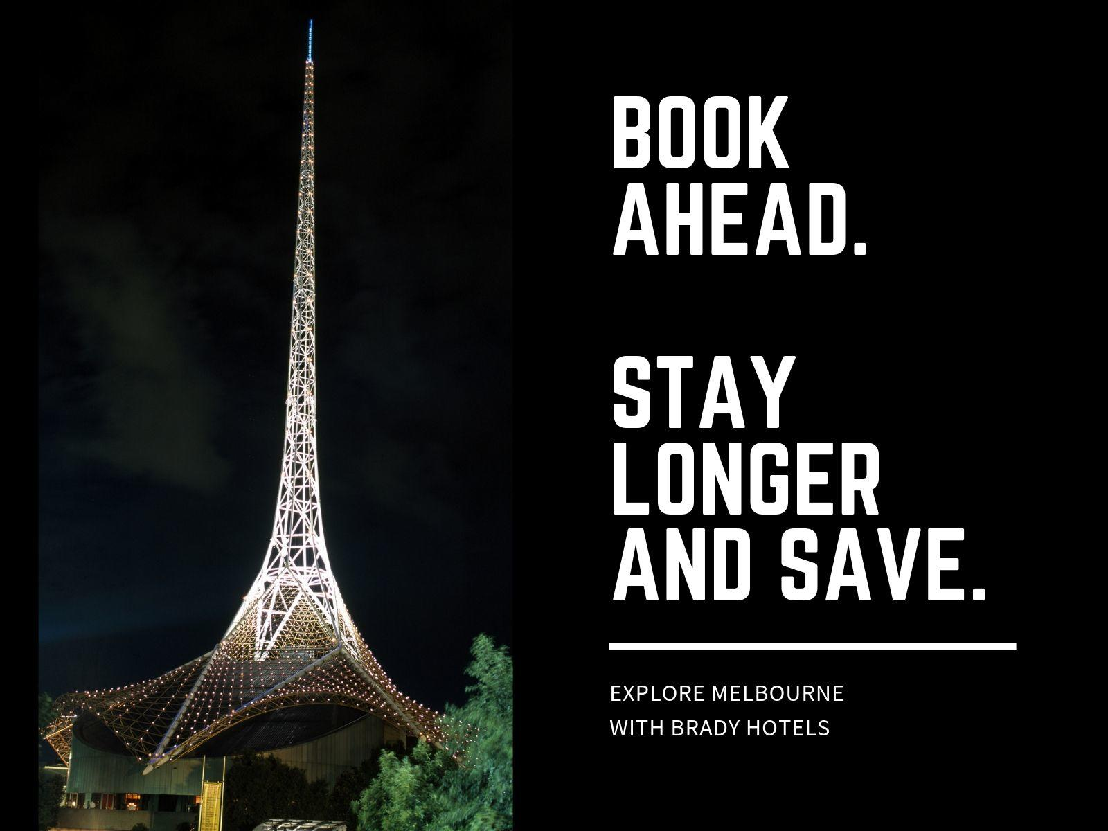 Brady Hotels Book Early and Save
