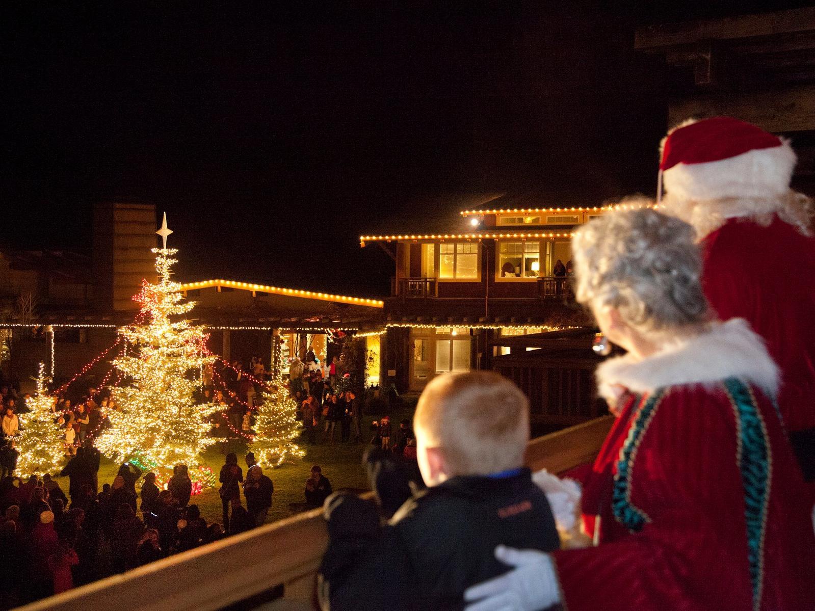 Christmas Activities Seattle.Alderbrook Resort Spa Luxury Resorts In Washington State
