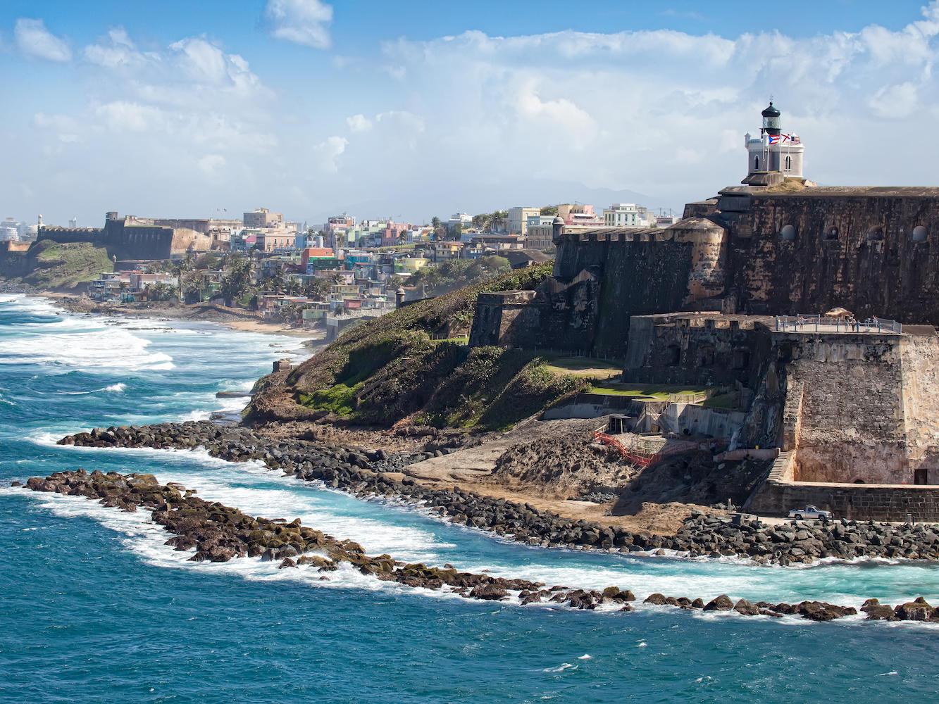 Fort El Morro Old san Juan Puerto Rico