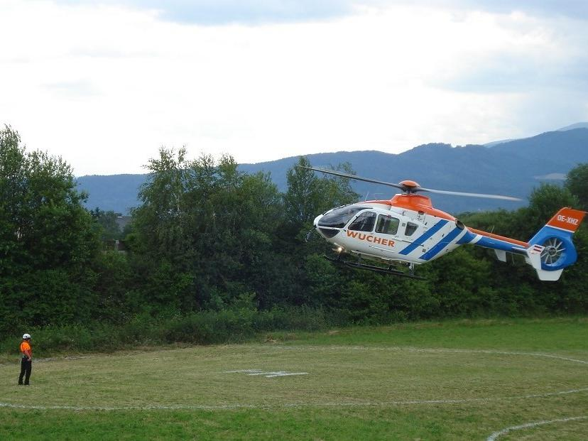 With the helicopter from Schloss Pichlarn to the Formula 1 and MotoGP