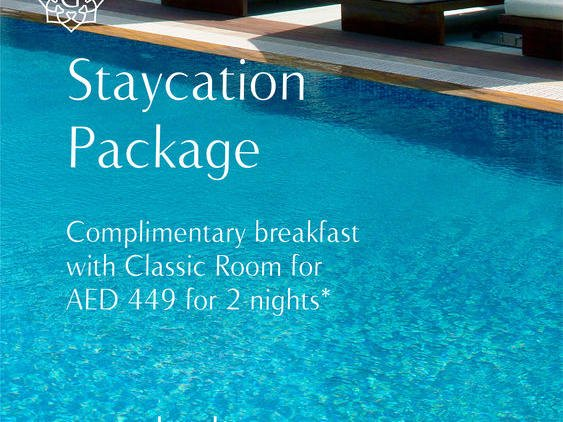Staycation package at Grayton Hotel Dubai