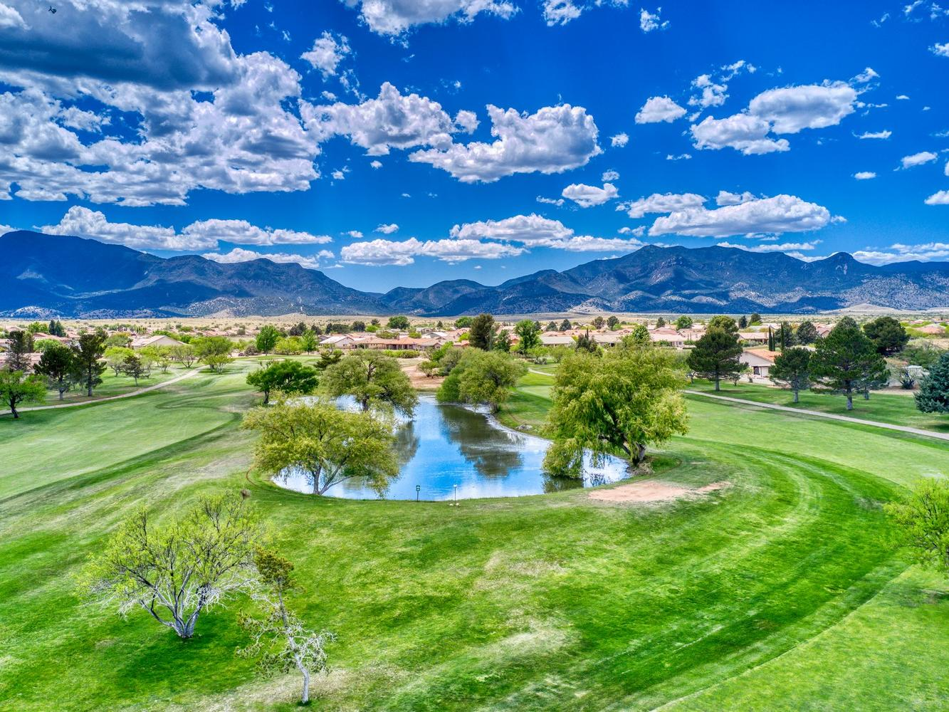 Vast Pueblo del Sol golf course.