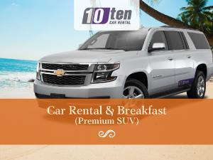 Car Rental & Breakfast