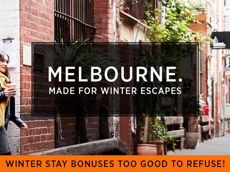 Winter Scape at Jasper Hotel Melbourne