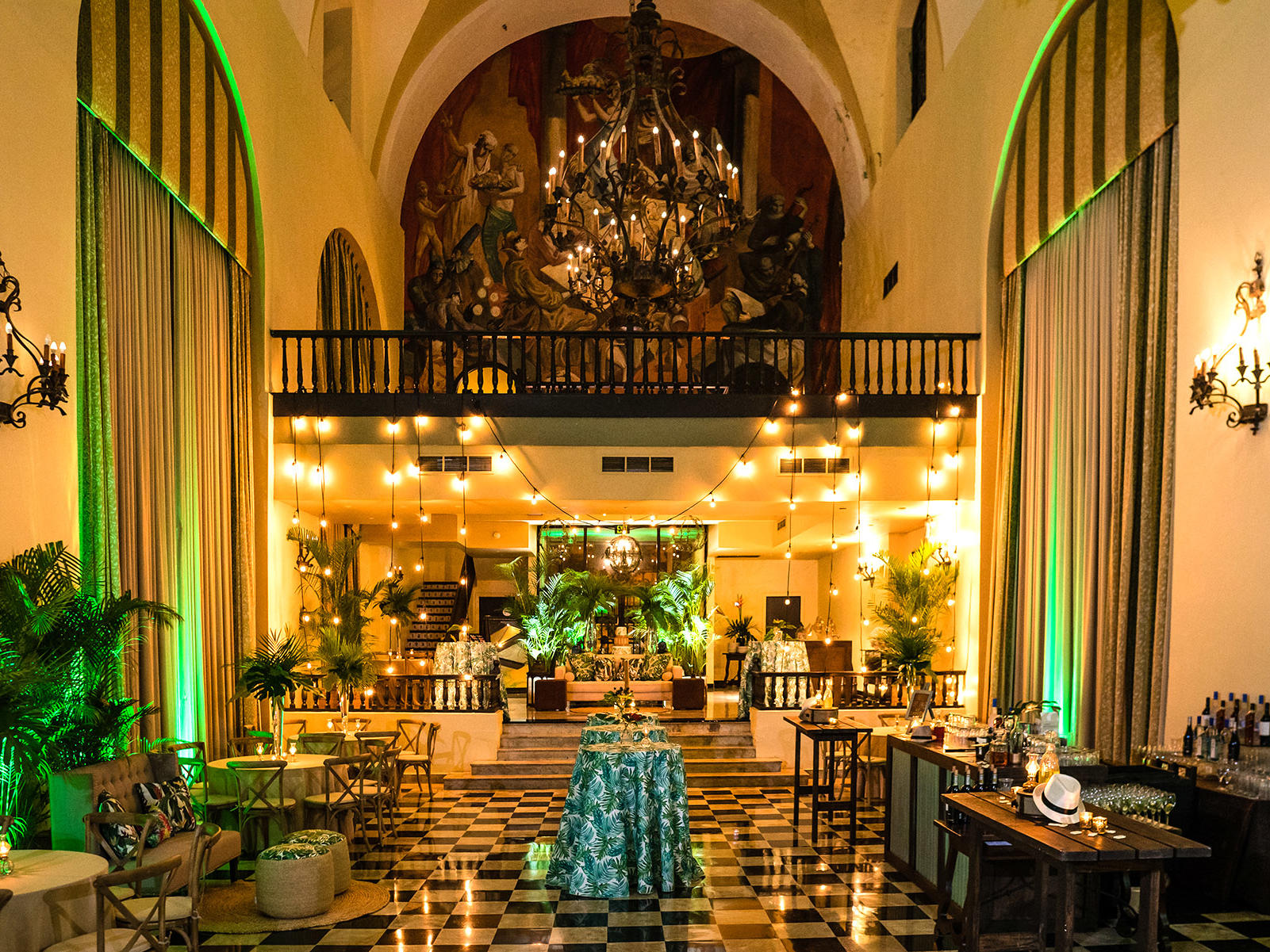 salon campeche event decorations