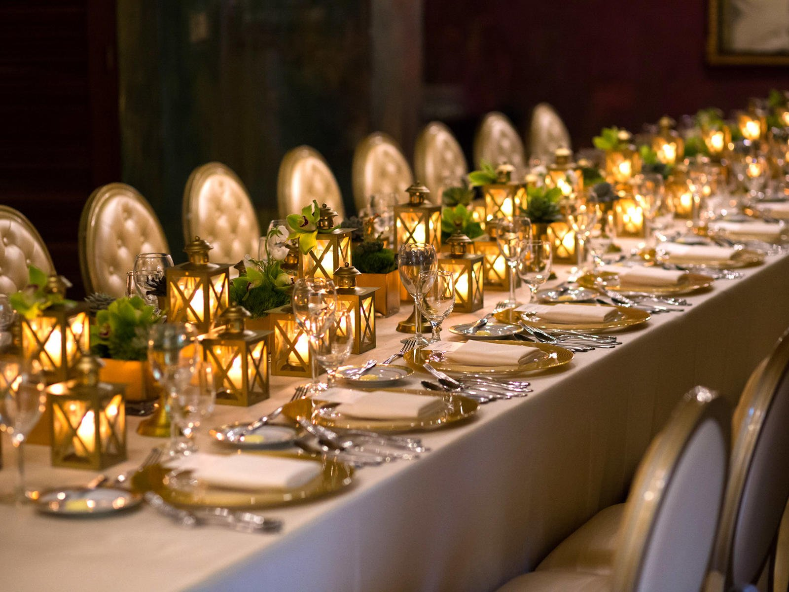 event setting table
