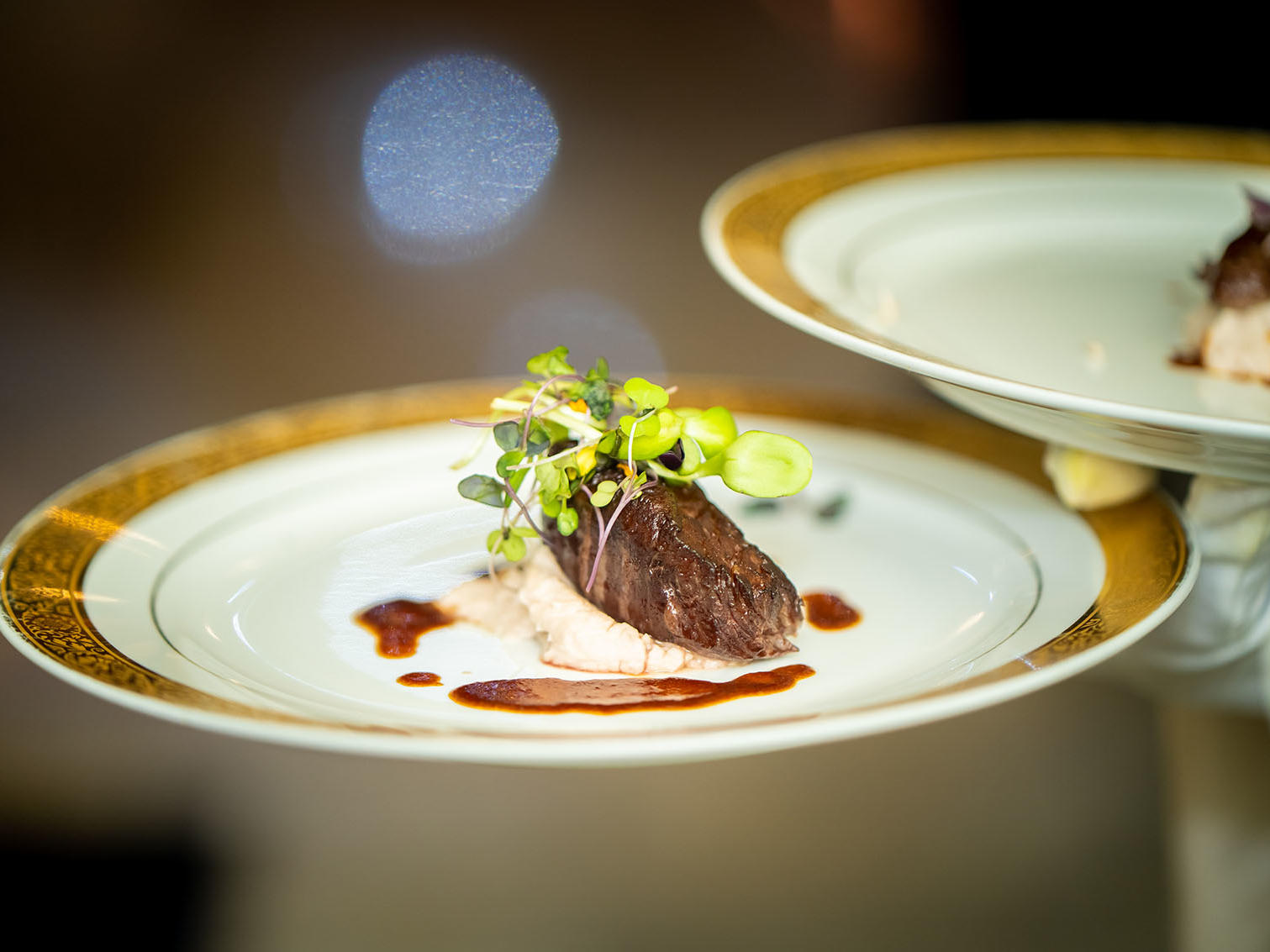 wedding food plate