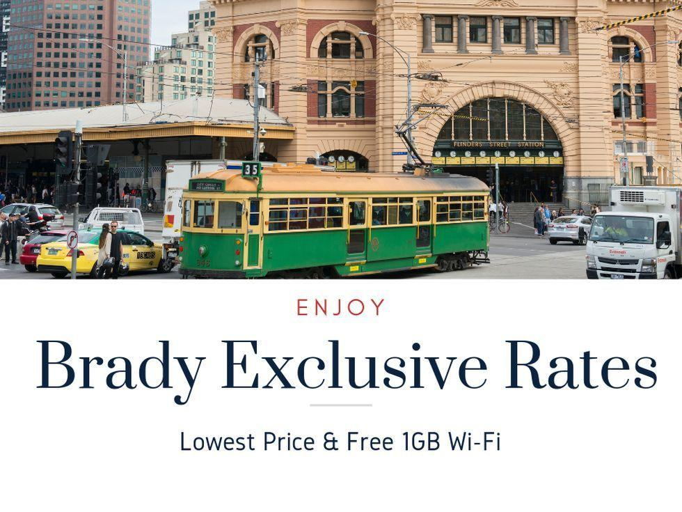 Brady exclusive rate