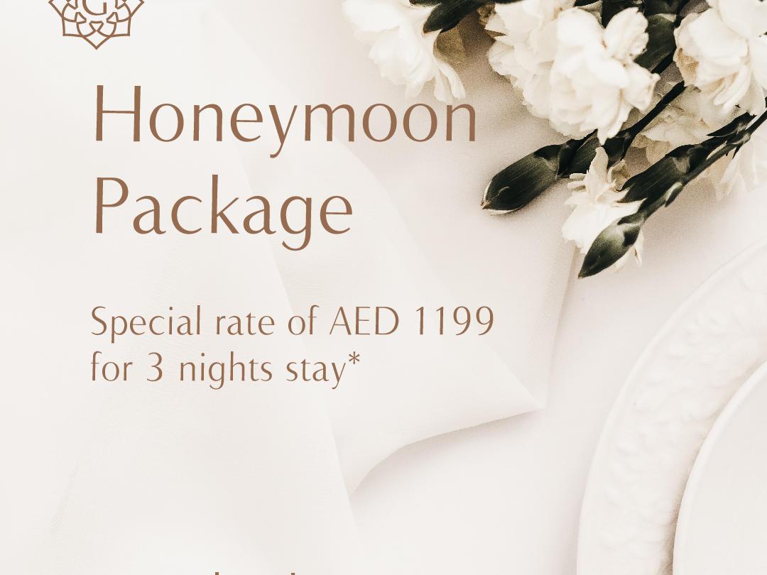 Honeymoon Package at Grayton Hotel Dubai