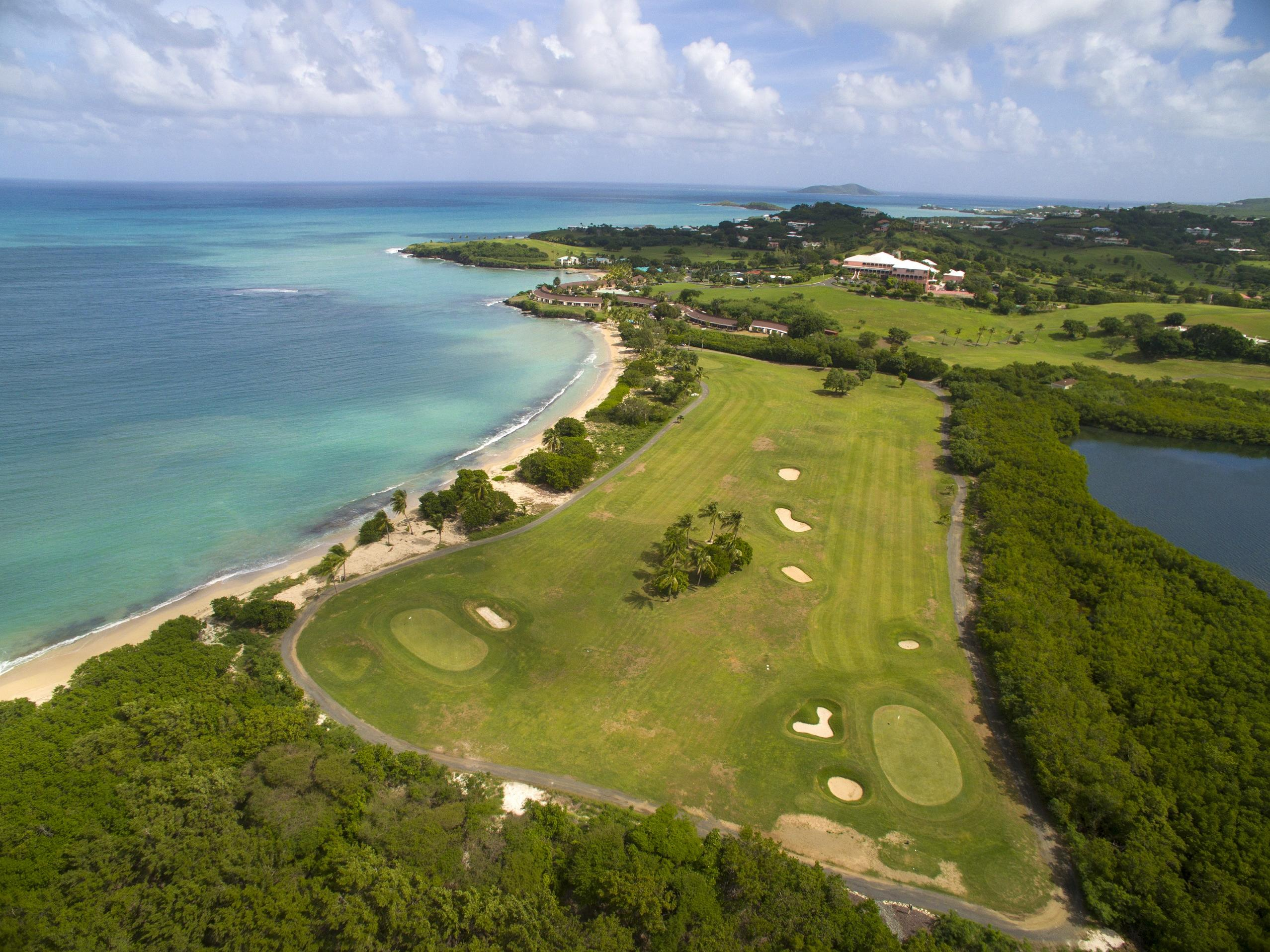 Aerial View of Buccaneer Course Fairway