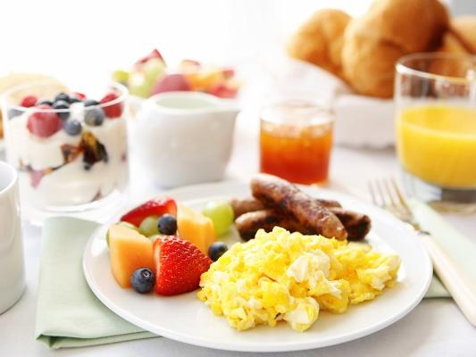 Breakfast and Breakfast Package
