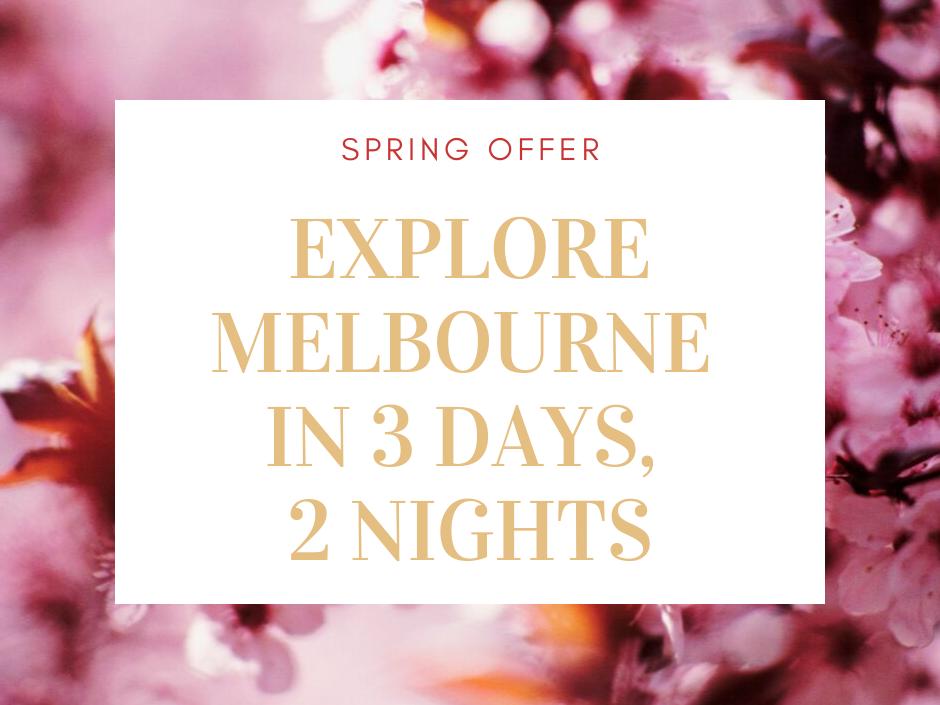 Spring offer at Brady Hotels Melbourne