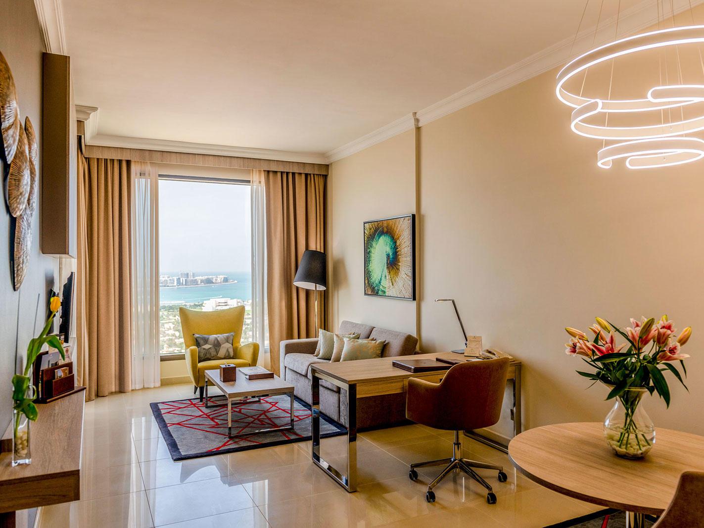 Premium Sea view living room