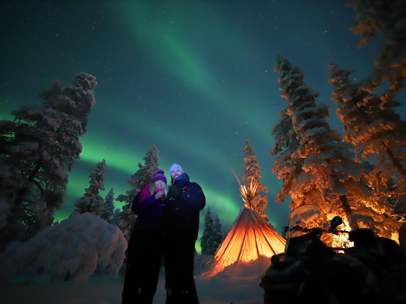 3 Night Romantic Package at Northern Lights Village in Saariselkä, Lapland