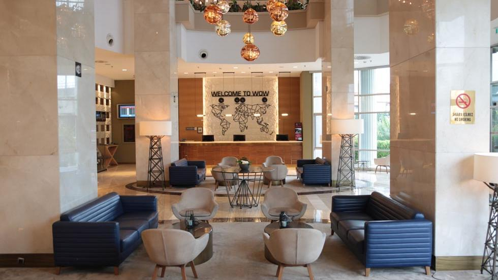 WOW Hotel Lobby at Wow Hotels Group