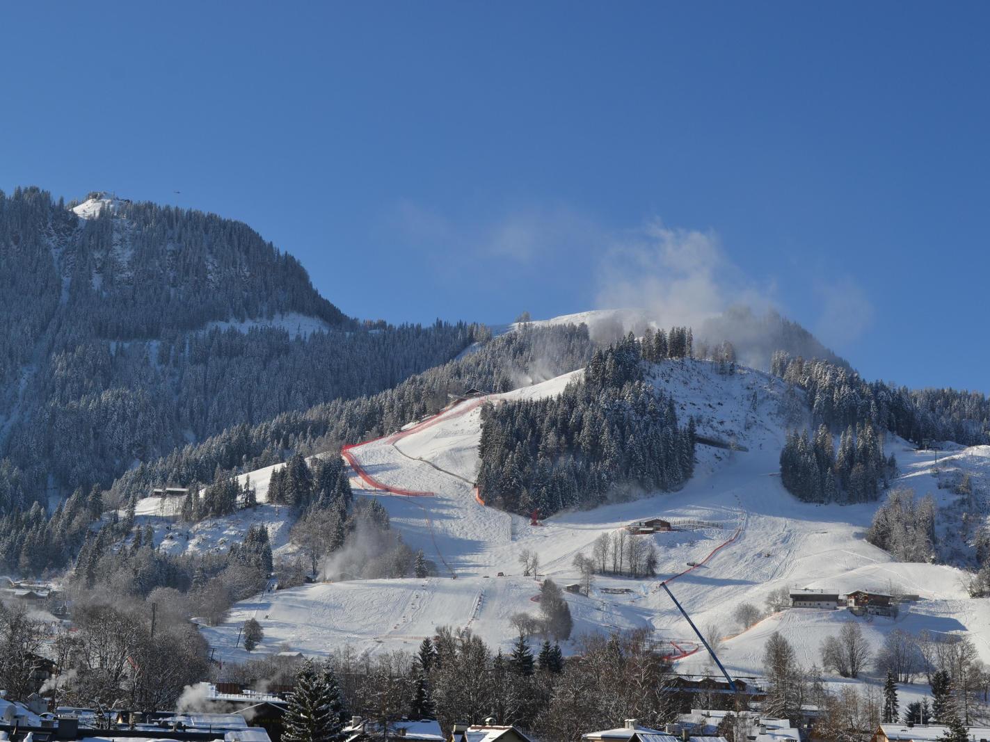 Skiurlaub am Hahnenkamm