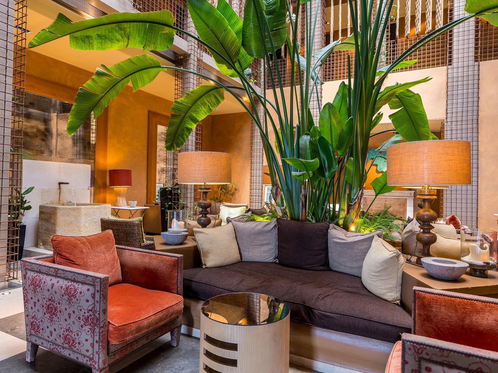 Lobby at Hotel Club Maritimo de Sotogrande, Cádiz, Spain