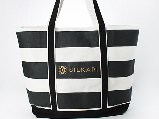 Beach Bag with Silkari Hotels Logo